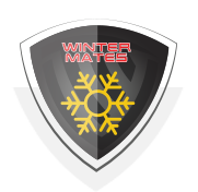 WINTER WORK GLOVES Badge